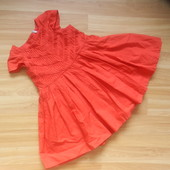 Фирменное платье M&S  1-1,5 года состояние нового