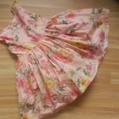 Фирменное платье Next  малышке 1,5-2 года состояние отличное