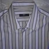 Hugo Boss рубашка Оригинал р 16 41 Швеция Сток