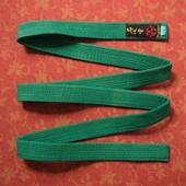 Пояс кимоно Hayashi размер 250, б/у. Цвет не яркий. 100% хлопок. Длина 232 см, ширина 4,2 см.