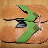 i0065)кожаные вьетнамки 37 р