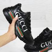 Кроссовки женские Gucci black