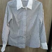 Фирменная блузка в полоску, р.46-48