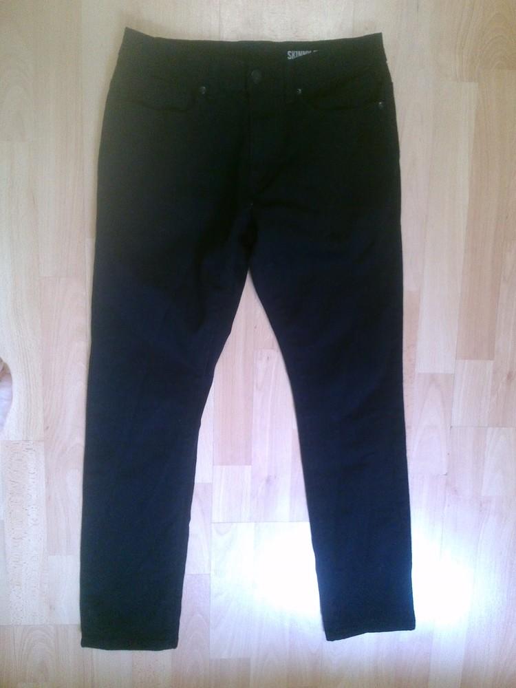 Фирменные джинсы скинни 30 р. фото №1
