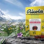 Лечебные леденцы Ricola 50g Швейцария