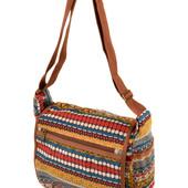 Молодежная легкая тканевая сумка