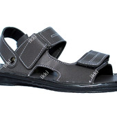 43 и 44 р Мужские босоножки серые отличного качества сандали (БС-04ср)