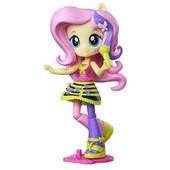 Май литл пони мини-кукла девушки эквестрии Флаттершай шарнирная с микрофоном. Оригинал Hasbro