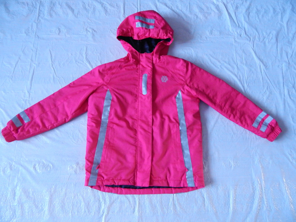р. 140-146 лыжная куртка Pepperts Reflektorjacke 360, Германия фото №1