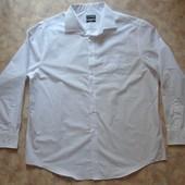 Белая рубашка 54 с дл.рук.  мужская