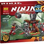 Конструктор Bela Ninja 10578 Атака Алой армии, 101 дет.