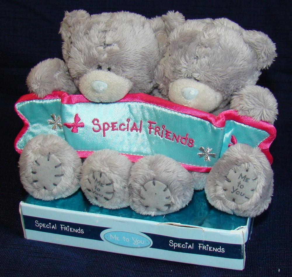 Игрушка мягкая мишки teddy special friends, 10 см фото №1