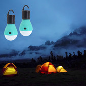 Кемпинговый LED фонарь лампа на батарейках для походов и дома