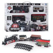 Железная дорога, поезд Эпоха паровозов Limo Toy 701830