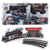 Железная дорога, поезд  Эпоха паровозов Limo Toy 701829