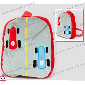 "Детский рюкзак ""Формула 1"" MP 1243, на молнии, 25х20х7см"