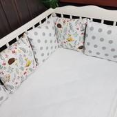 Сказочный набор бортиков для новорожденных