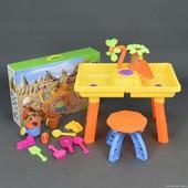Столик игровой для песка и воды + стульчик 9809