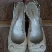 Туфли-босоножки, кожа, Монарх