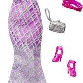Barbie Набор одежды для куклы барби платье complete look fashion pack lavender gown dmd40 DHC60