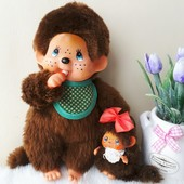 Мончичи обезьянки Monchichi пара