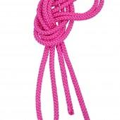 Скакалка новая для худ. гимнастикиTuloni Pink 2, 5 м