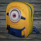 Детский рюкзак 3D Миньон Стюарт Minion Stuart
