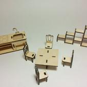 Набор мебели Кухня-столовая для PetShop, зверюшек, пони, творчества