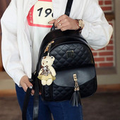 Молодежный женский городской рюкзак