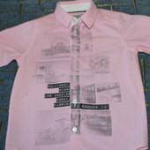 Рубашка для мальчика от George. Хлопок