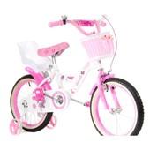 Двухколесный велосипед для девочек Бибарби Bebarbie на 16, 20 д