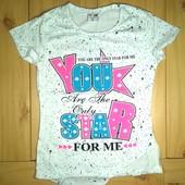 Детская футболка Ты звезда рр.116-152 2 цвета  Beebaby (Бибеби)