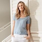 Блуза с эффектом винтажа Tchibo евро 40-42