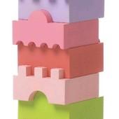 Деревянная пирамидка Башенка Cubika LD-4