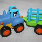 Hasbro трактор с прицепом из сша