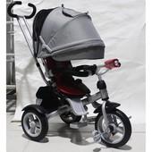 Трёхколёсный Кросер Т 503 детский велосипед Crosser Т-503 фара, накачка