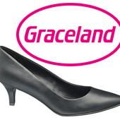 Туфлі класичні жіночі на шпильці 37р фірми Graceland Німеччина