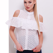 Блуза Каелья из прошвы