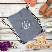 Фирменная сумка-мешок с брендовым логотипом