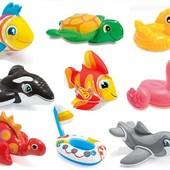 Надувная игрушка для пляжа, ванной Intex в ассортименте
