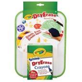 Crayola Доска для рисования и 8 карандашиков dry erase board set