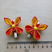 Заколочки-бабочки для девочки 1 пара