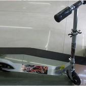Самокат алюм 2 колесный pu 20см SC17070
