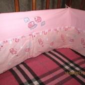 Бампер, защита на кроватку