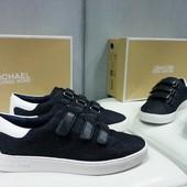 Женские кеды / спортивные туфли Michael Kors, оригинал, джинсовая ткань.