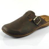100-OR-01-sk-043  Тапочки мужские домашние Inblu Инблу цвет-коричневый, размеры 40-46