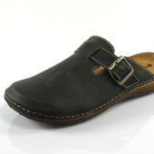 100-OR-01-sk-014 Тапочки мужские домашние Inblu Инблу цвет-черный, размеры 40-46