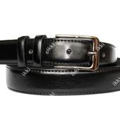 Мужской стильный ремень черного цвета (П-057)