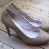 Туфли классические Next, кожа, размер 39 или Uk 6, стелька 25,3 см