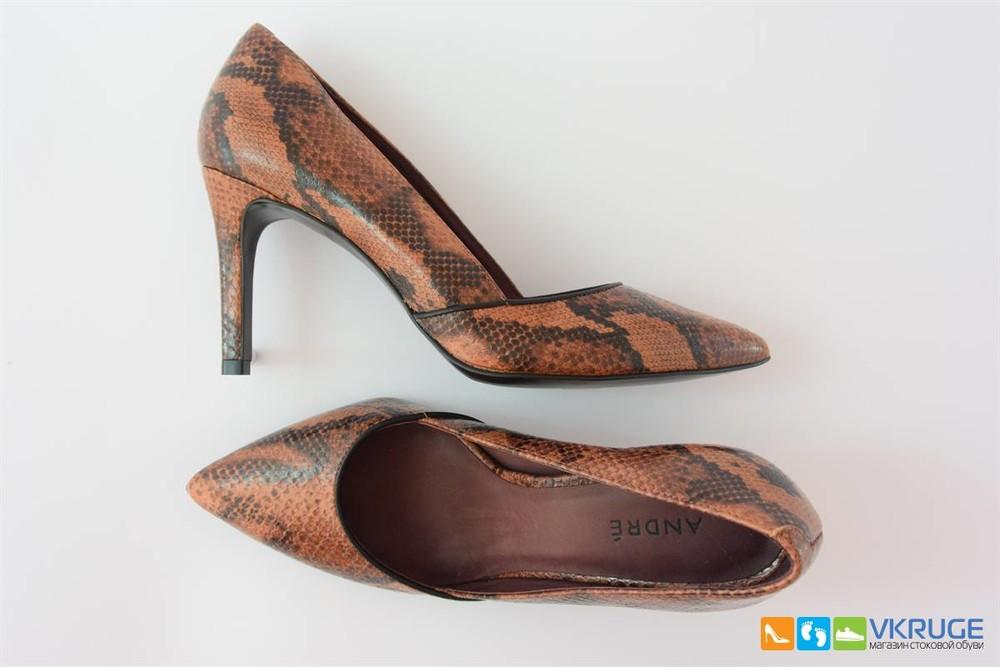 Туфли женские из натуральной кожи Andre 38 размер (арт. 2495) фото №1